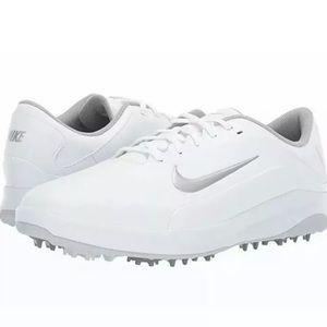 NIKE Vapor Golf Shoes White/Grey Women's